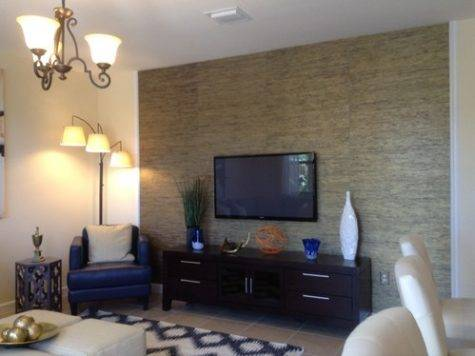 Love Accent Wall Behind