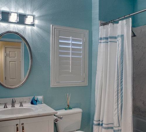 Love Color Teal Wall Paint Bathroom