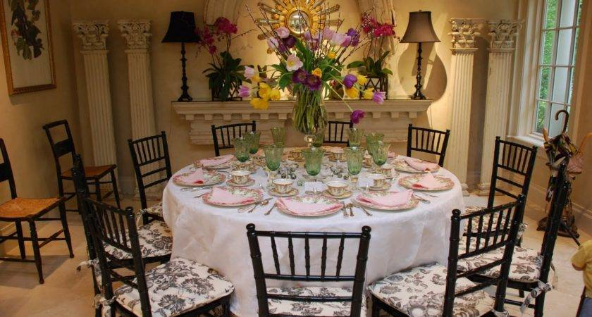 Lovely Table Decorating Ideas Upcoming Easter