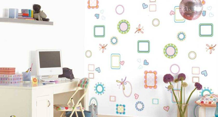 Lovely Wall Design Ideas Kids Room Home Interior