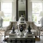 Luxe Living Space Taupe White Grey