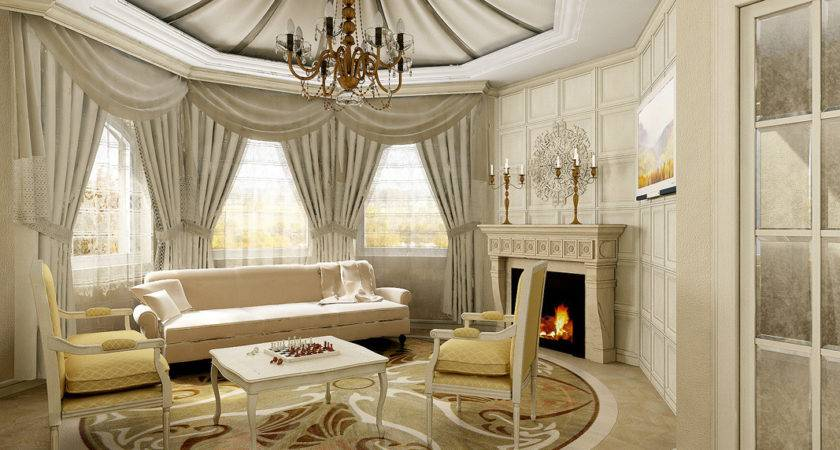 Luxurious Classic Living Room Design