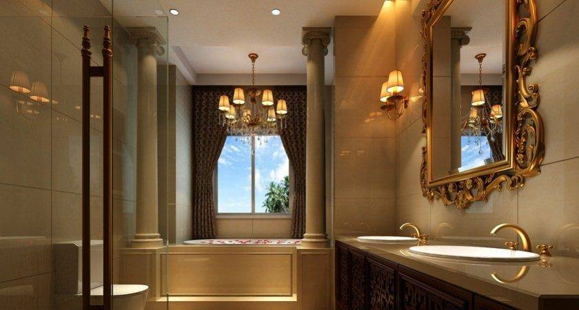 Luxury Bathroom Interior Design Neoclassical House