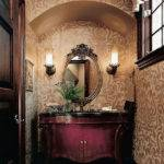 Luxury Classy Powder Room Design Ideas
