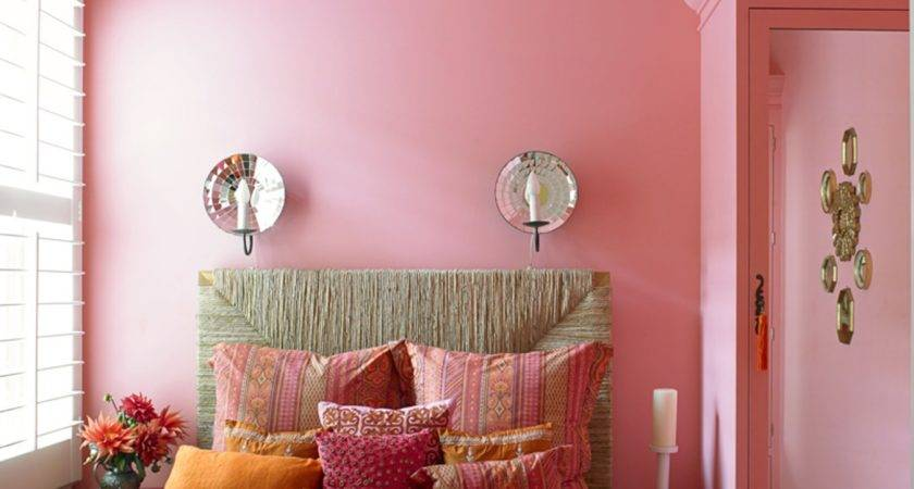 Luxury Girls Bedroom Decoration Pink Color Schemes