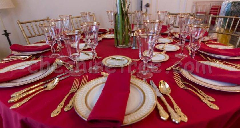 Luxury Home Design Furniture Table Linens