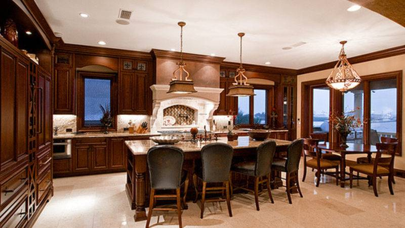 Luxury Kitchen Dining Room Design Elegant