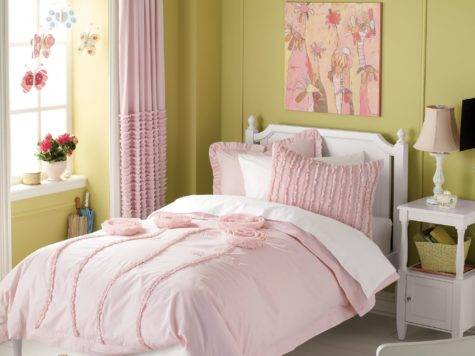 Luxury Linens Girls Colorful Kids Rooms