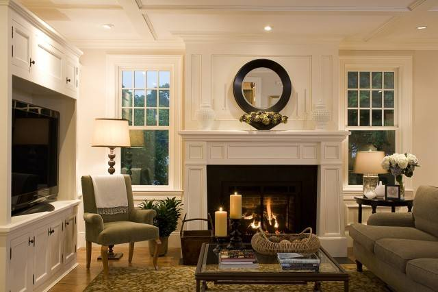 Luxury Living Room Modern Furniture Placement