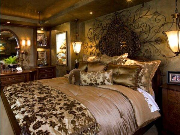 Luxury Mediterranean Bedroom Decorating Ideas Beautiful