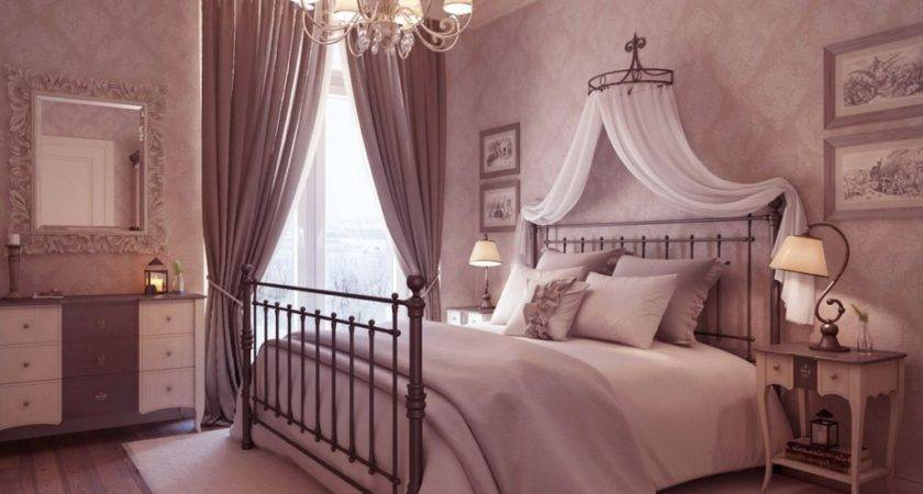 Luxury Neutral Bedroom Chandelier Idea Decosee