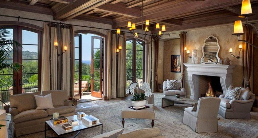Luxury Tuscan Style Home Design Designing Idea