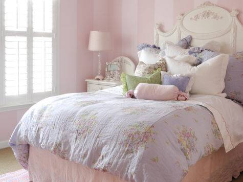 Luxury Vintage Bedding Girls Colorful Kids Rooms