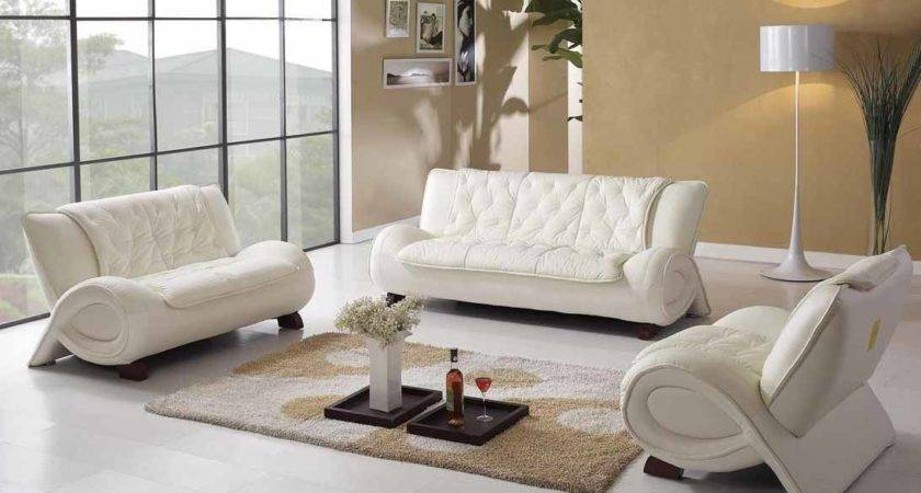 Luxury White Leather Furniture Remodel Living