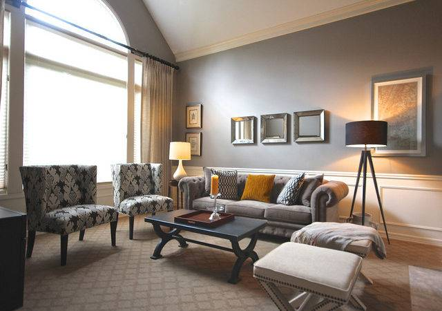 Mad Men Chic Sammamish Living Room Eclectic
