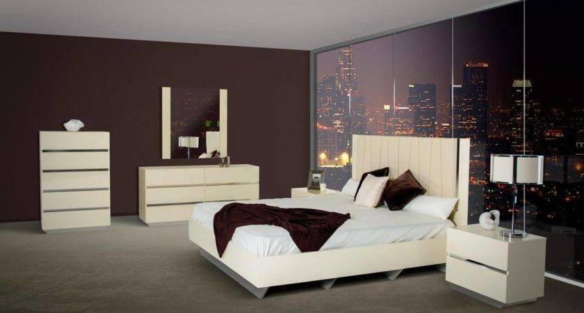 Made Italy Leather High End Bedroom Sets Oklahoma