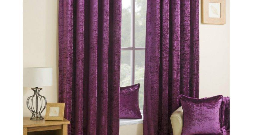 Made Measure Crushed Velvet Curtains Curtain