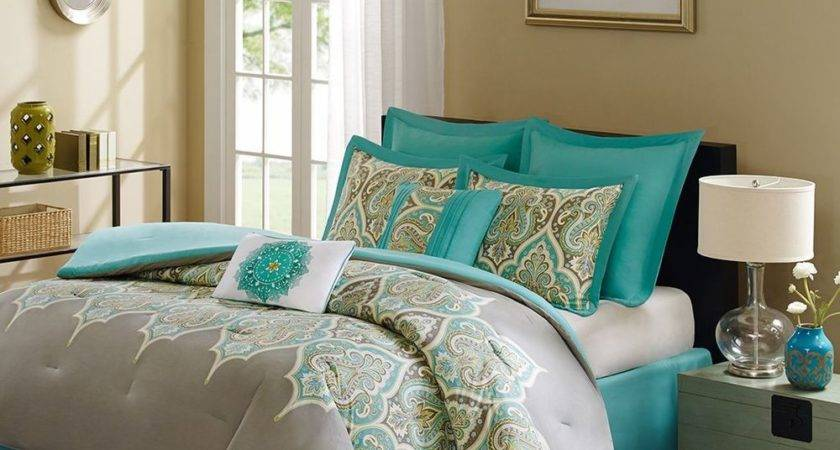 Madison Park Comforter Set Bed Bag Cal King