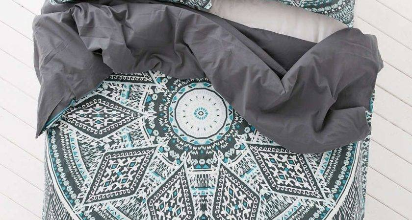 Magical Thinking Petra Geo Medallion Duvet Cover Home