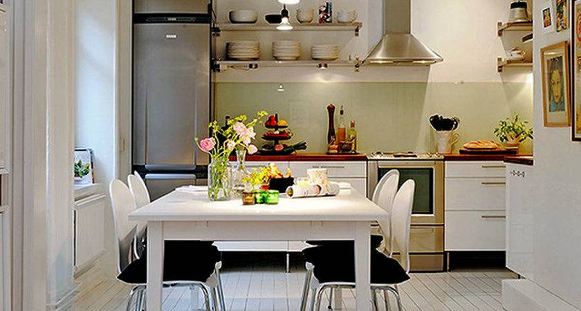 Magnificent Interior Small Apartment Kitchens Square