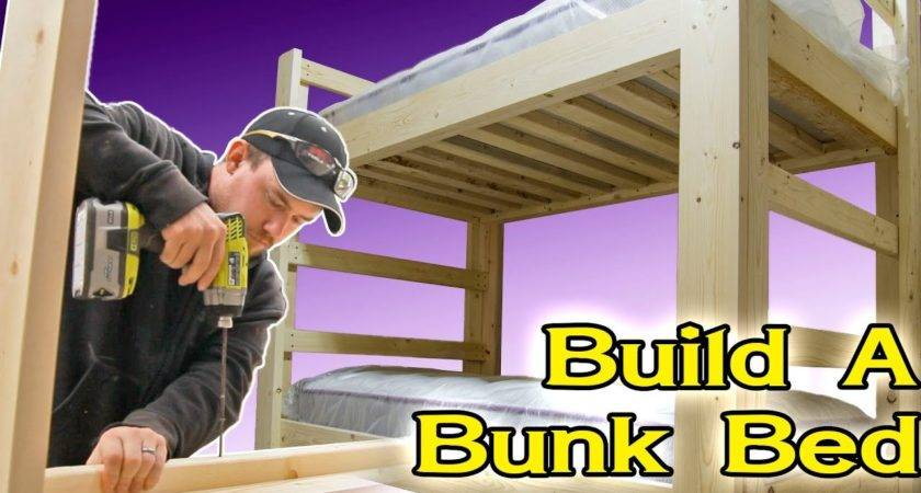 Make Bunk Bed Youtube