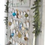 Make Daily Ornament Advent Calendar Old Door