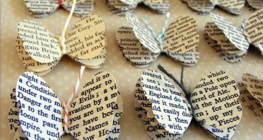 Make Decorate Books Book Pages Always Autumn