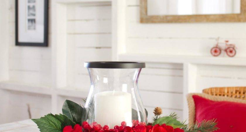 Make Layered Holiday Centerpiece Hgtv