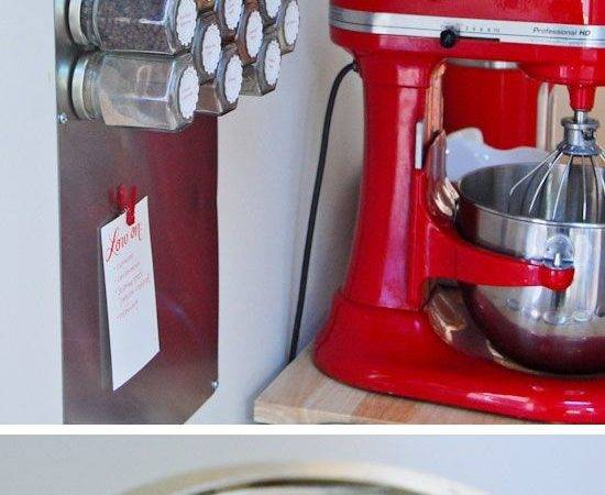Make Magnetic Spice Rack Pic Diy Small