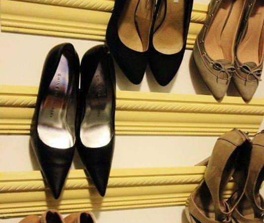 Make Your Own Diy Crown Moulding Shoe Rack Sika