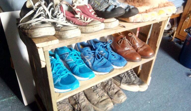 Make Your Own Diy Shoe Rack Toolmates Hire