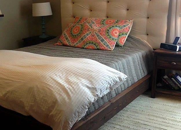 Make Your Own Upholstered Headboard Diy Projects Craft