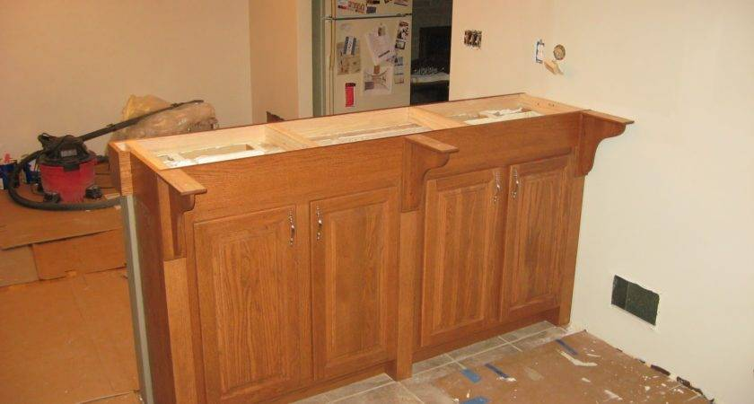 Making Home Kitchen Bar Redesign