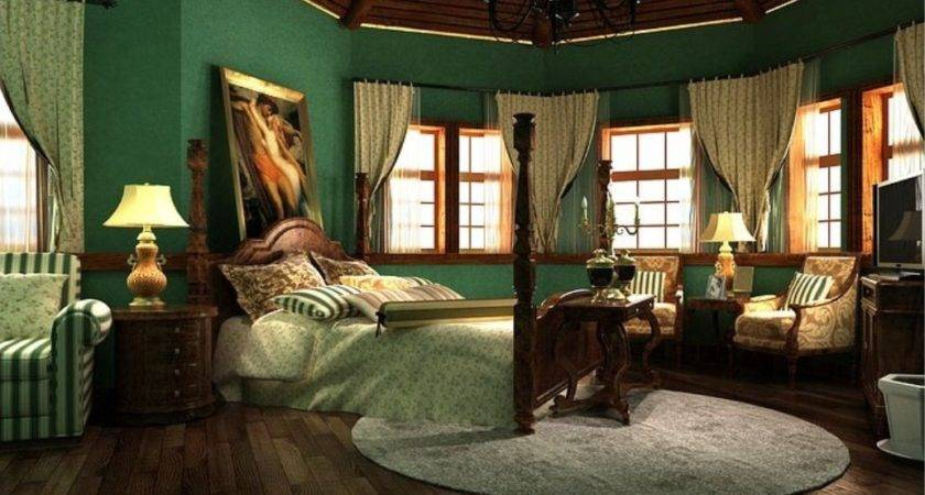 Malaysia Bedroom Interior Decoration Dark Green