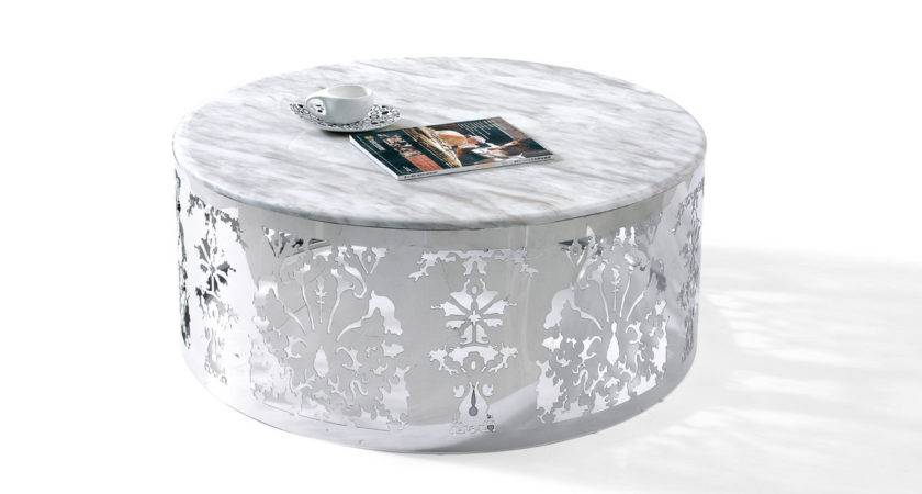 Margaret Modern Marble Top Coffee Table