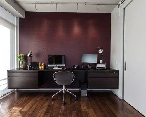 Maroon Accent Wall Houzz