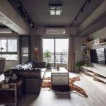 Marvel Themed Industrial Bachelor Apartment Taiwan