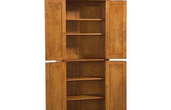 Marvelous Freestanding Pantry Cabinet Upon Interior