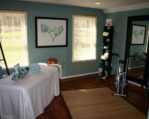 Massage Therapy Room Home Design Ideas Remodel