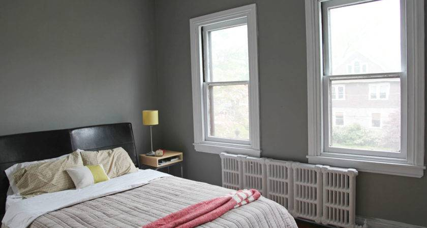 Master Bedroom New Gray Wall Color White Trim Stately