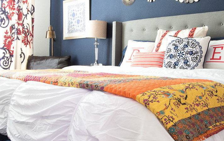Master Bedroom Refresh New Bedding Decorchick