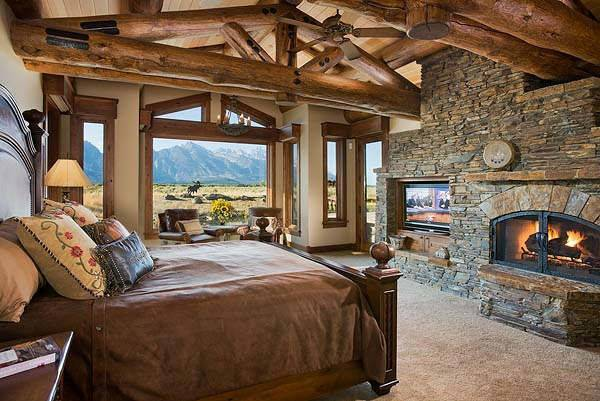 Master Bedroom Rustic Style Home Pinterest