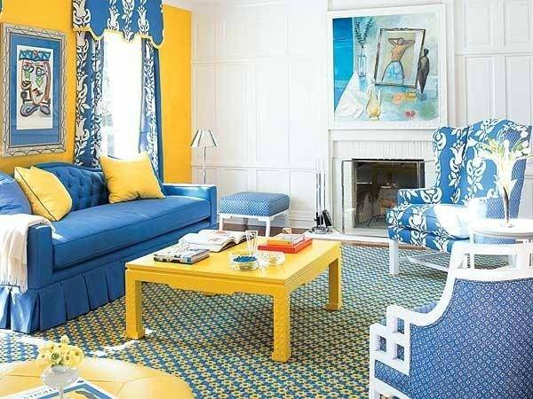 Matching Your Interior Design Color Schemes Blue