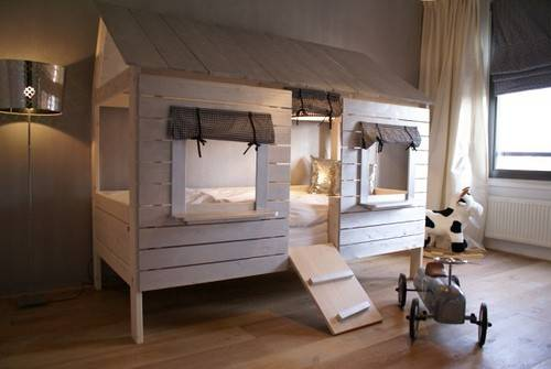 Matelic Treehouse Bed Toddler