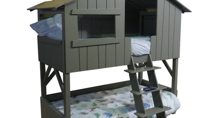 Mathy Bols Treehouse Bunk Bed Trundle Beds