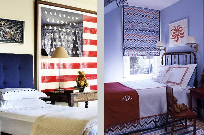 Matouk Chic Red White Blue Rooms Love All Year