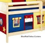 Maxtrix Bunk Bed Tents Kids Red Blue Yellow