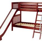 Maxtrix Medium Bunk Bed Ang Ladder Slide Twin