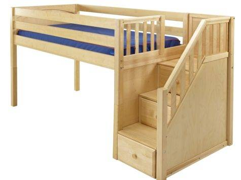 Maxtrixonline Low Loft Bed Stairs Steps