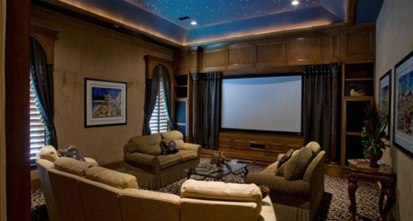 Media Room Furniture Ideas Design